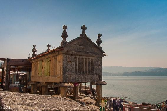 Horreo de Combarro. Visitando Galicia.