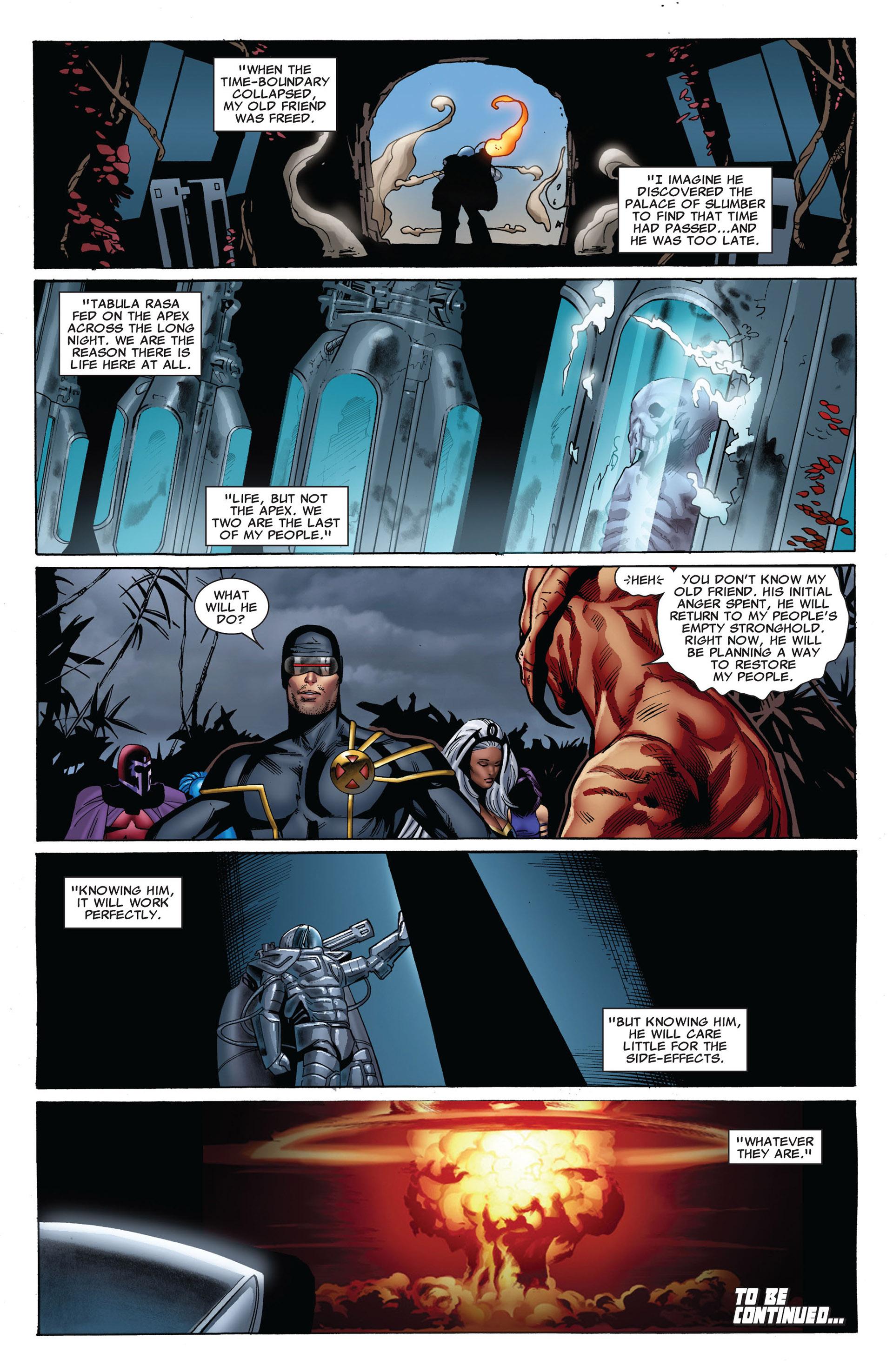 Read online Uncanny X-Men (2012) comic -  Issue #6 - 22