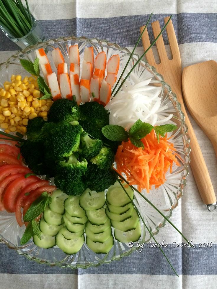 ensalada-brócoli-cangrejo-verduritas