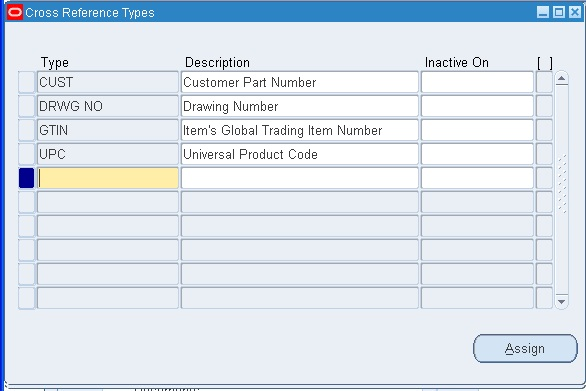 Item Cross References in Oracle Apps R12 ~ Oracle Apps