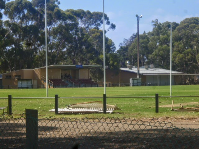 Salisbury Oval Stands