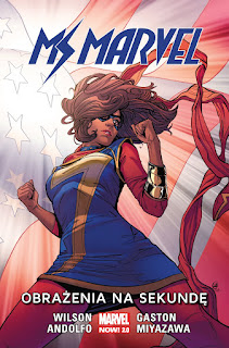 Ms Marvel tom 7 okładka