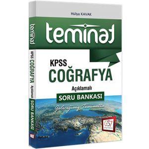 657 Yayınları KPSS Teminat Coğrafya Açıklamalı Soru Bankası 2017