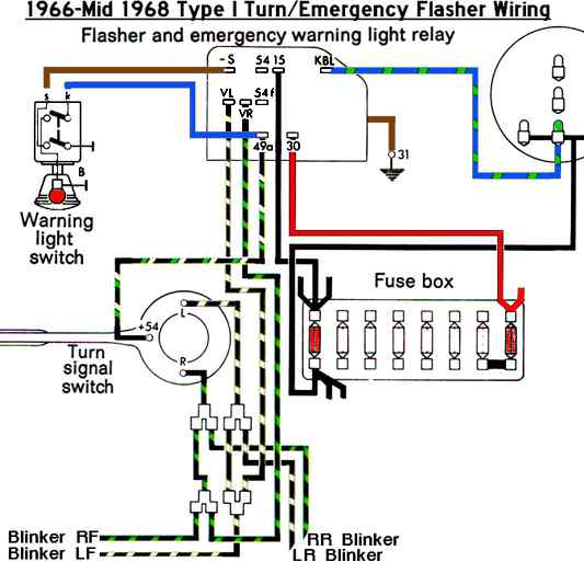 68 Vw Beetle Ignition Wire Wiring Schematic Diagram