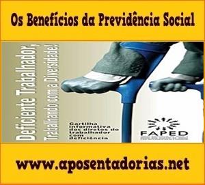Aposentadoria por Tempo de Contribuição à Pessoa com Deficiência.