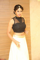 Roshni Prakash in a Sleeveless Crop Top and Long Cream Ethnic Skirt 116.JPG
