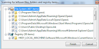 GeekUninstaller program to remove the software quickly