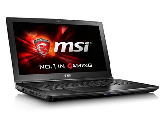 MSI GL62 6QF-893 15-inch Gaming Notebook