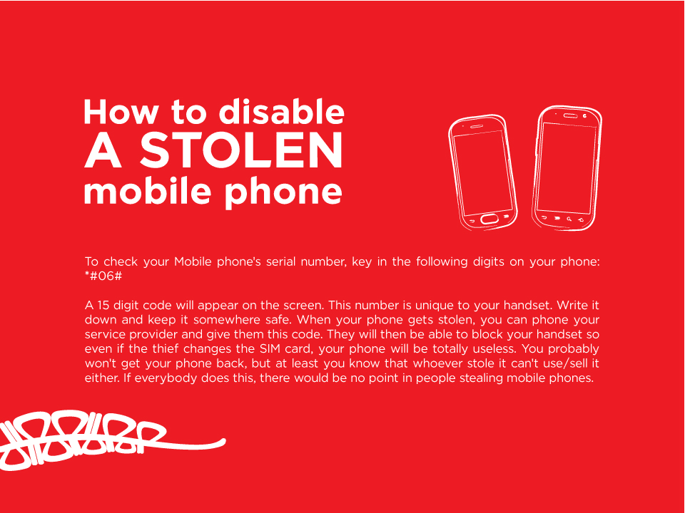 Do you want to know how to disable a STOLEN mobile phone? - Bmion com