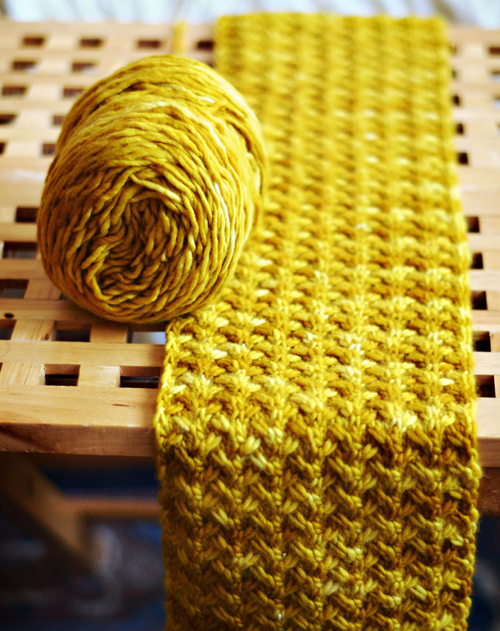 Shifting Sands Scarf - Free Pattern