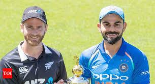 Live New Zealand vs India 1st ODI 2019