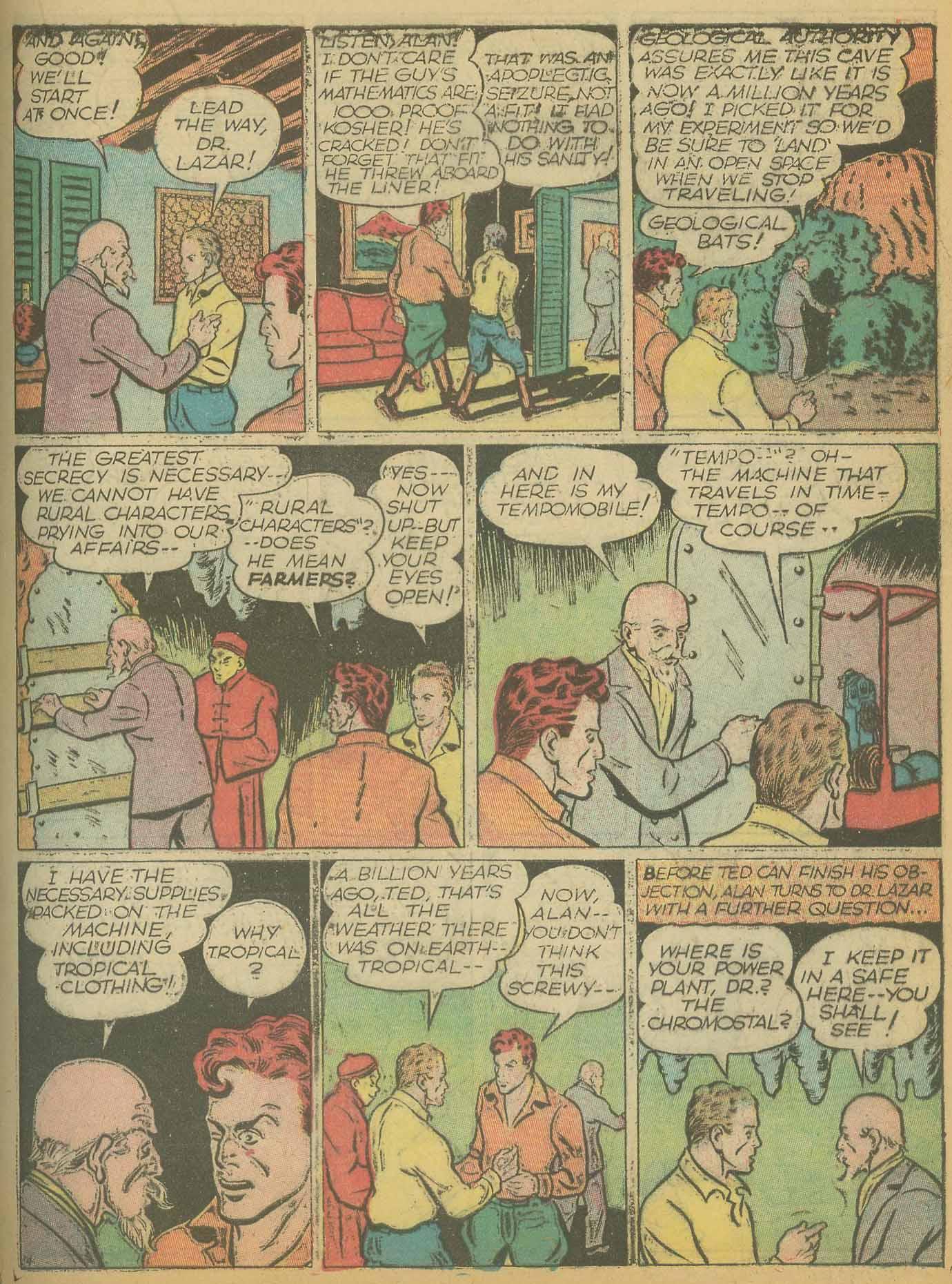 Read online All-American Comics (1939) comic -  Issue #8 - 35