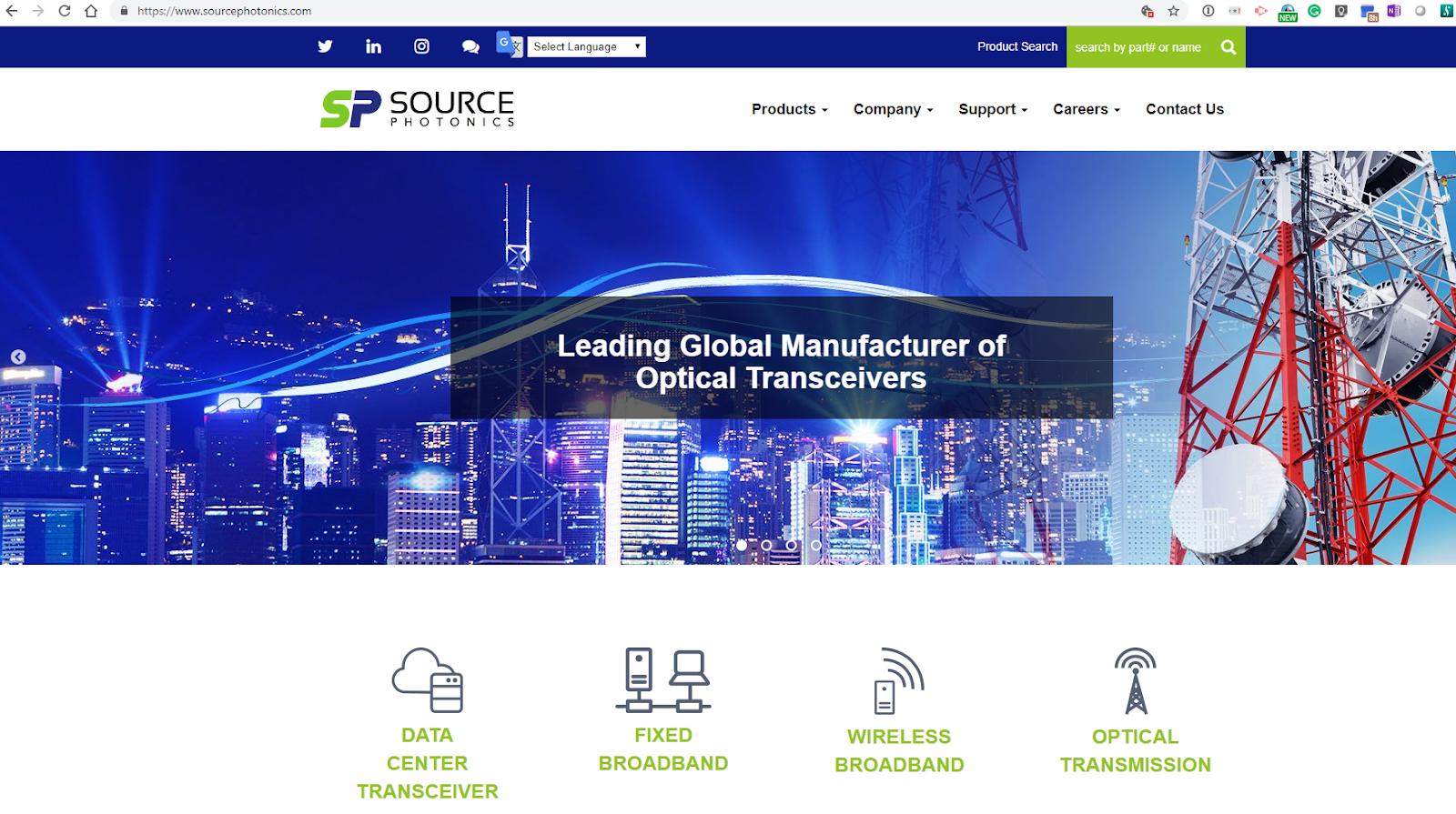 92da2a0eaf8 Source Photonics raises  100 million for its optical transceivers ...