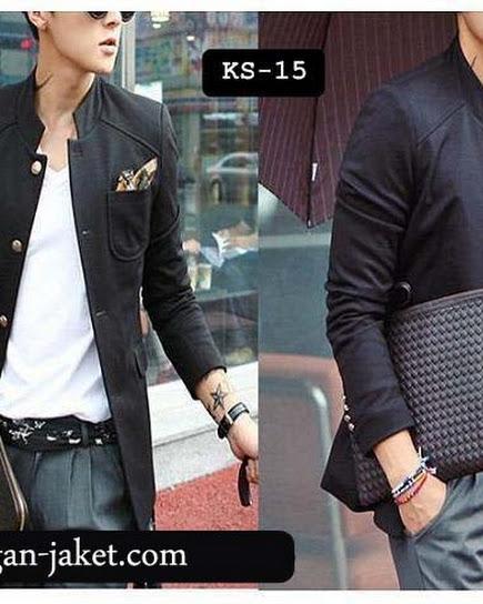 jas exclusive Blazer hitam SK15