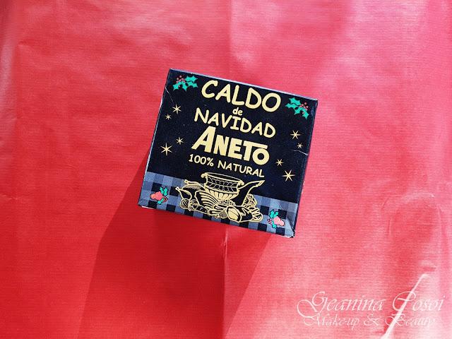 Caldo de Navidad Aneto Degustabox Noviembre - Especial Navidad