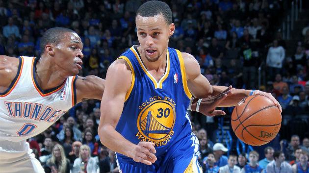 Qui du Thunder, emmené par Westbrook et Durant, ou des Warriors, emmenés par Curry, Green et Thompson, s'imposera ? Réponse cette nuit dans le choc de la nuit en NBA