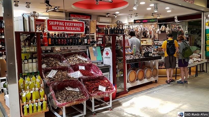 Mercado San Lourenço - O que fazer em Florença, Itália