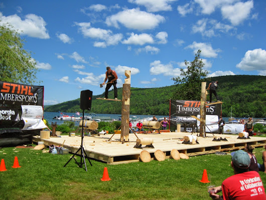 STIHL Timbersports Competition Comes to Cooperstown