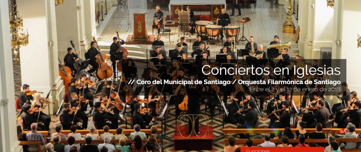 Camino oto al panorama cultural para hoy concierto en for Concierto hoy en santiago