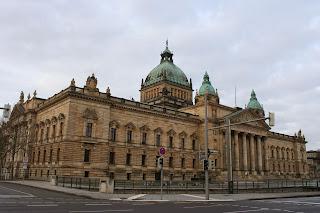 Bundesverwaltungsgerichts Gebäude Leipzig am Simsonplatz