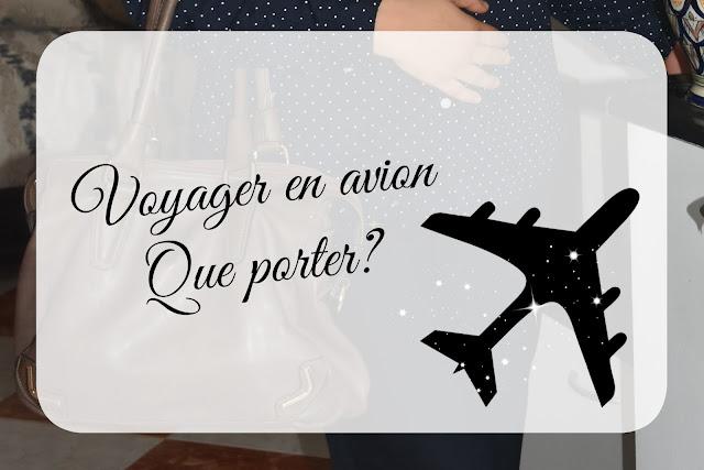 Prendre l'avion: chic et confort