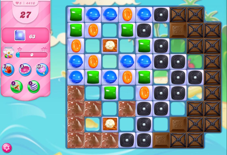 Candy Crush Saga level 4416