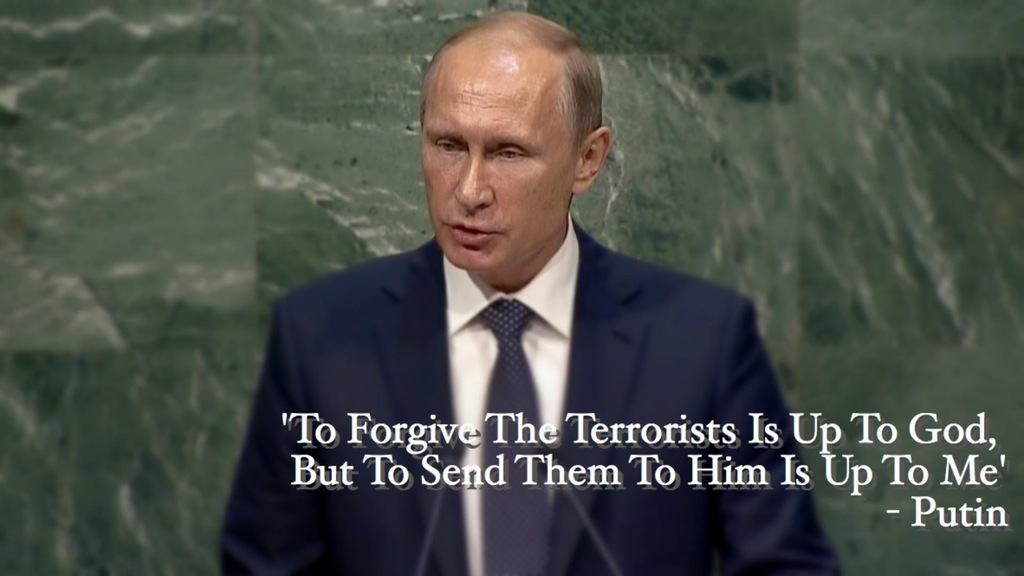 VLADIMIR PUTINS MISATTRIBUTED QUOTE ON TERRORISTS
