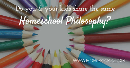 Do you and your kids share the same homeschool philosophy?