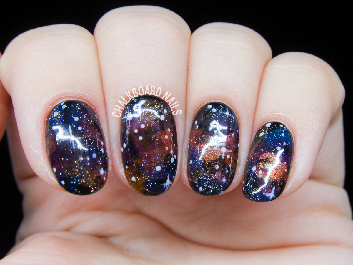 Those galaxy nail designs absolutely stunning! Gallery - Galaxy Nails!