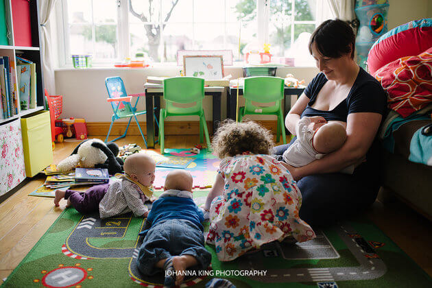 Heartwarming Photo Series Of Mothers Breastfeeding Their Four Children