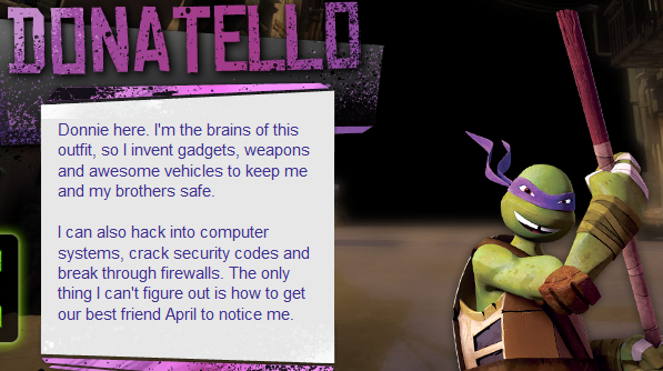 Cloudy Thoughts The Malunis Review Toys Tmnt 2012 Donatello