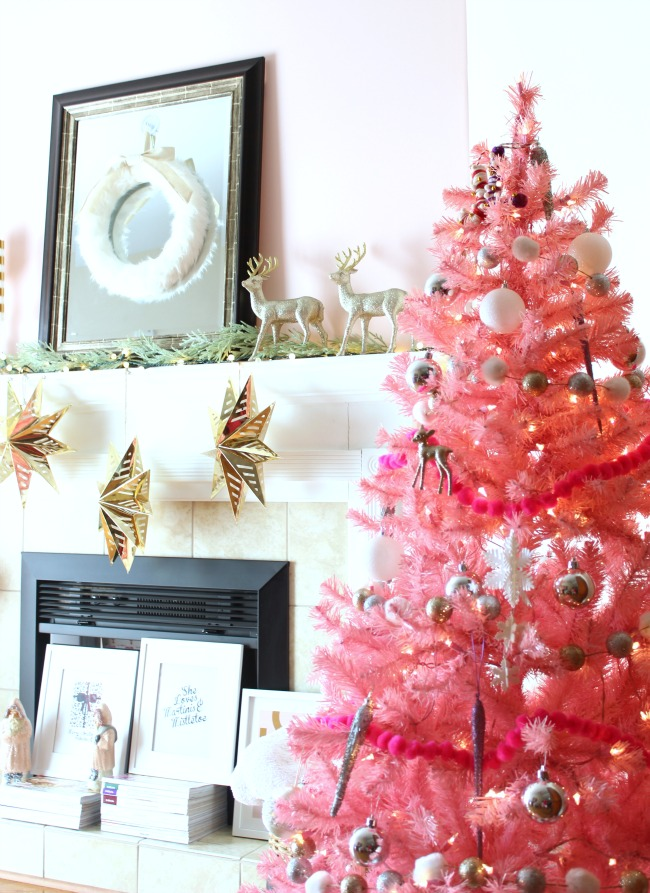 A Pink Christmas My Holiday Decorations