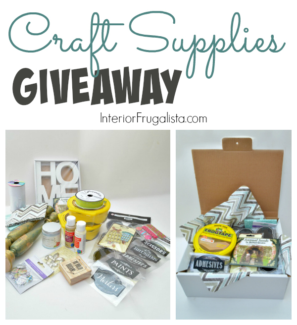 Craft Supply Giveaway Box for Canadian Residents