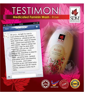 Medicated Feminin wash