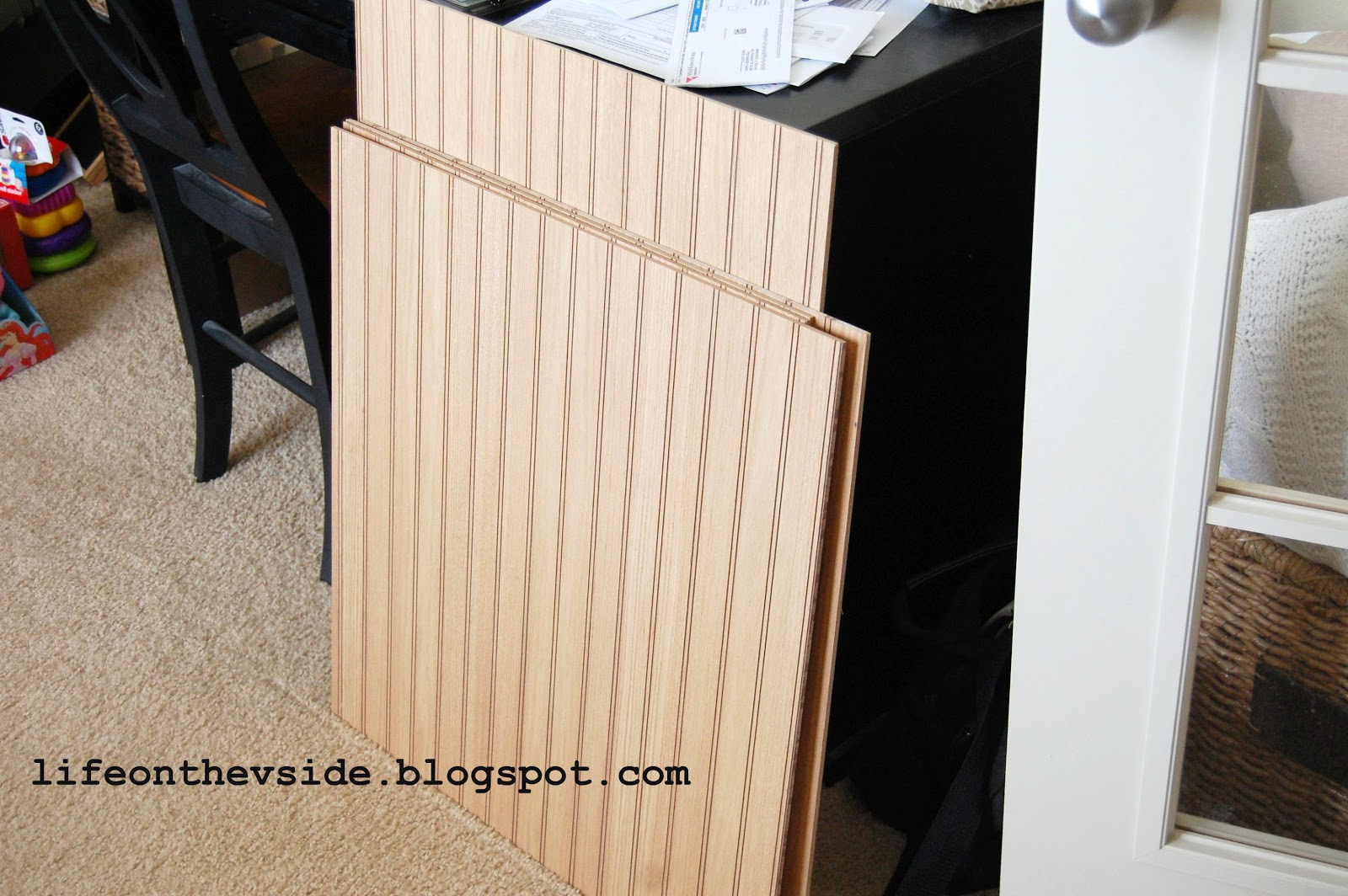beadboard kitchen island europa cabinets on the v side diy update