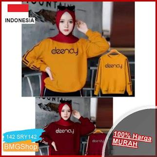 SRY142 Sweater Wanita Deenay Hijab BMGShop
