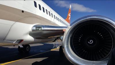 Per a què serveixen les espirals blanques que es veuen dins dels motors d'avió?