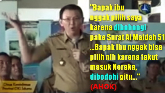 Terkait Kasus Penistaan Agama, Ini Surat Terbuka Dari Ahli Bahasa Indonesia Untuk Jokowi Dan Kapolri