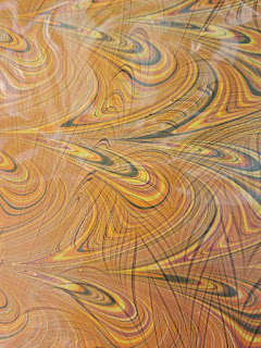 A favorite example of beautiful marbling