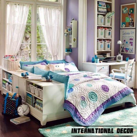Girls Purple Bedroom Ideas: 12 Girls Bedroom Decor Ideas, Furniture, Sets