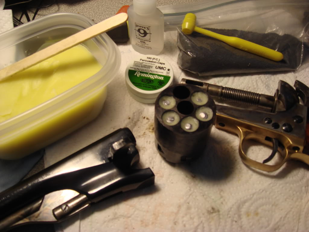 how to clean a revolver after shooting