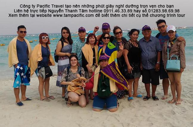 Công ty Pacific Travel tạo nên những phút giây nghỉ dưỡng trọn vẹn cho bạn