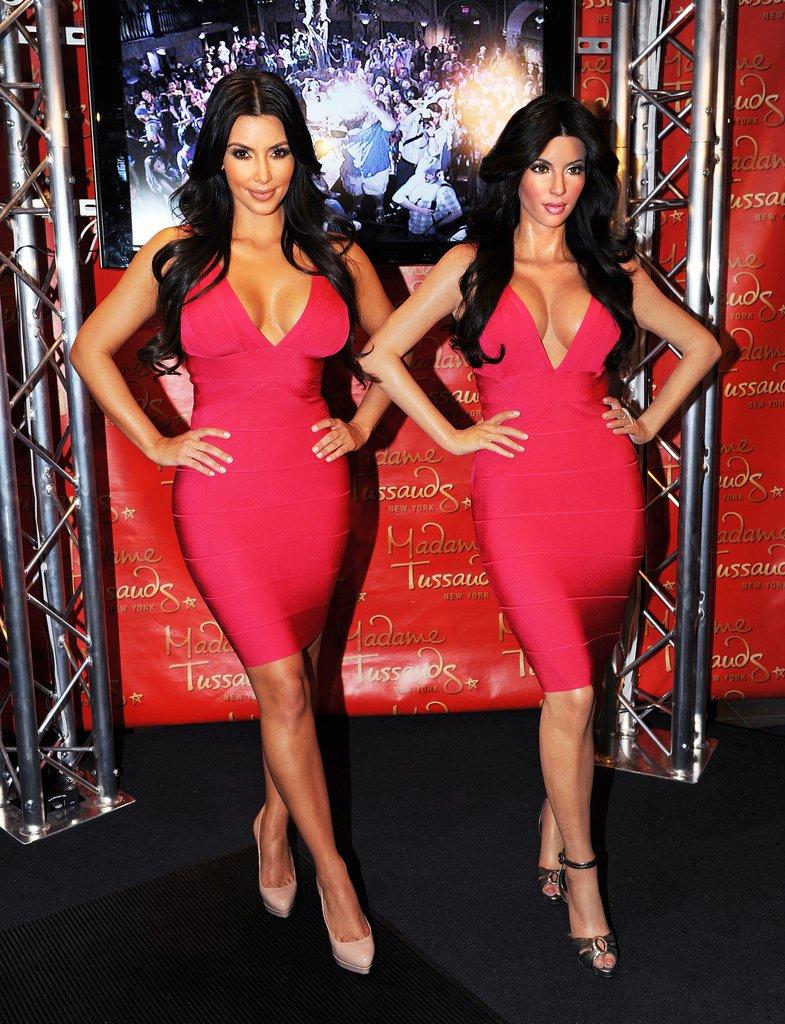 kim kardashian wax figure