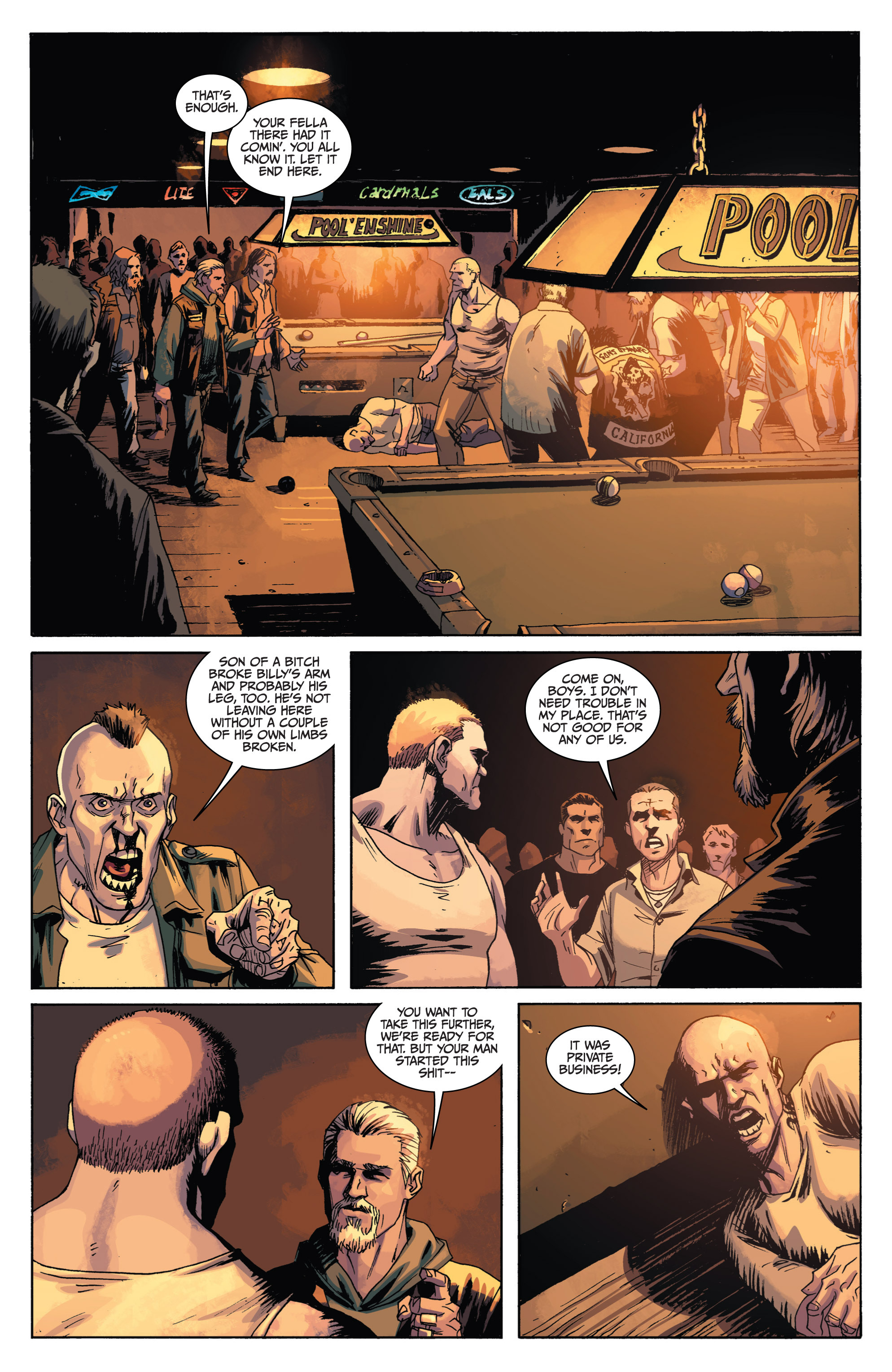 Read online Sons of Anarchy comic -  Issue #1 - 17
