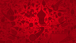 خلفيات كأس العالم 2018 للتصميم باللون الاحمر