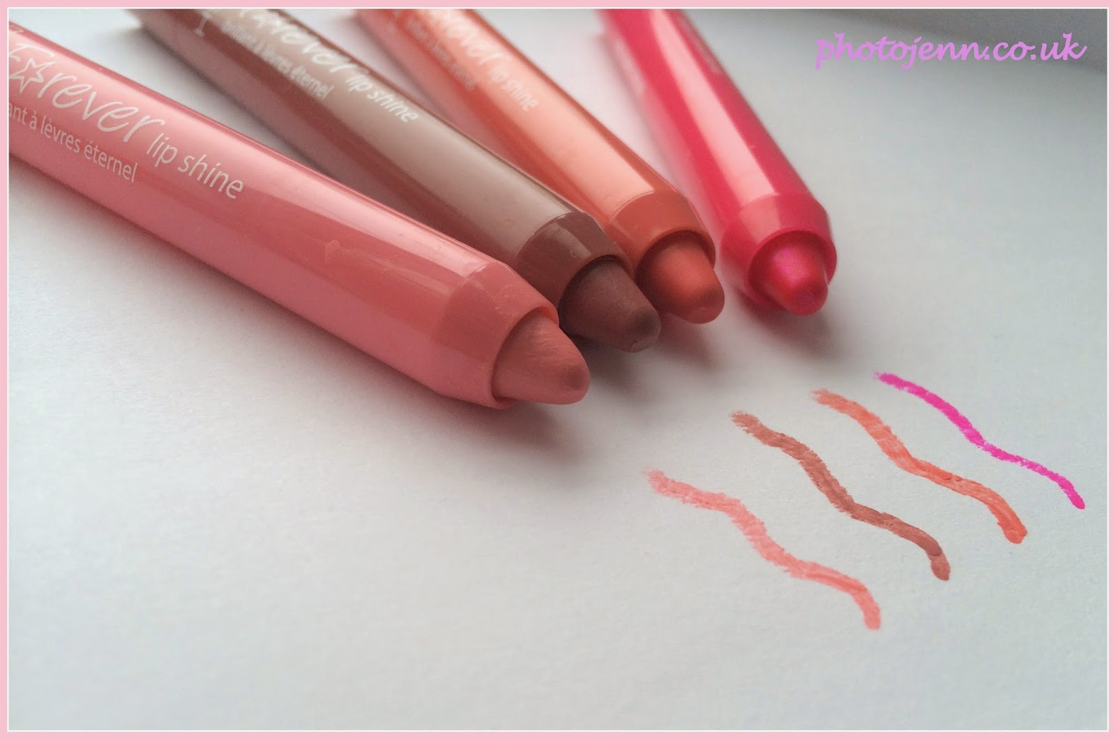 gosh-forever-lip-shine-swatches-baby-baby-flirty-dreams-funky-friday-love-story
