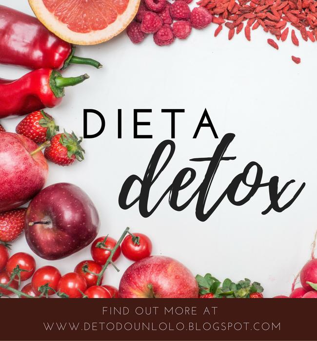 dieta detox, detox diet, detoxificante, dieta detoxificante