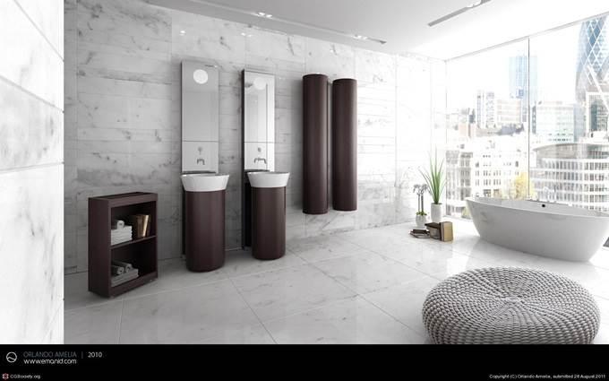 AC London/NY Bathroom by Orlando Amelia