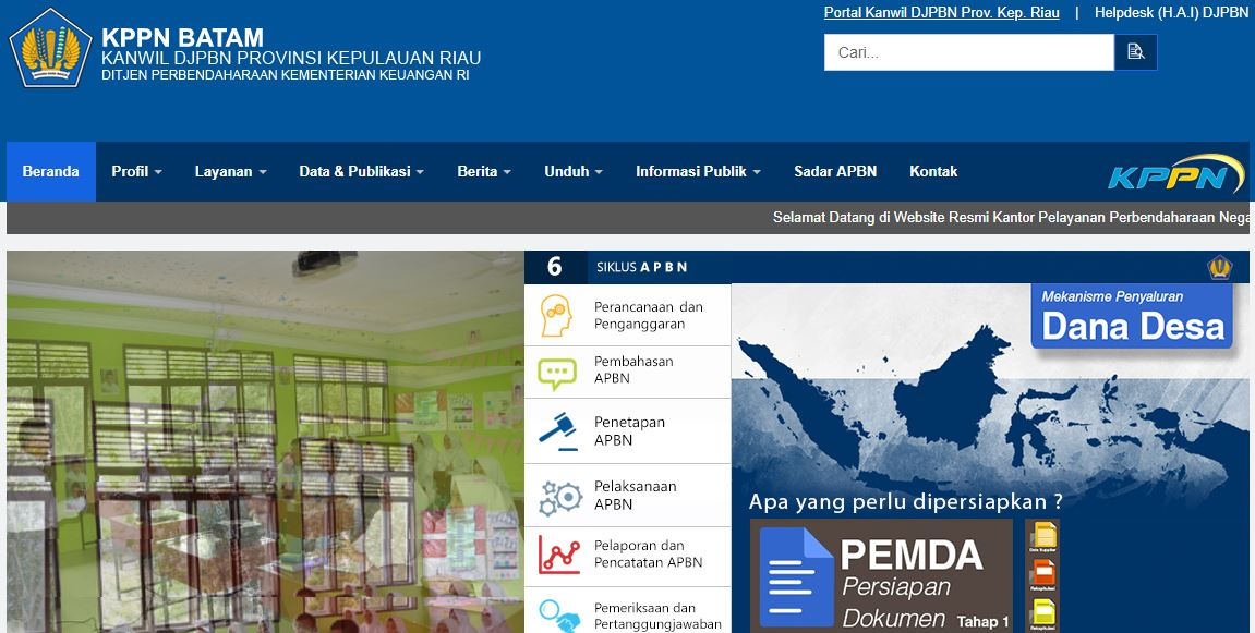 Alamat Lengkap Kantor KPPN Di Kepulauan Riau