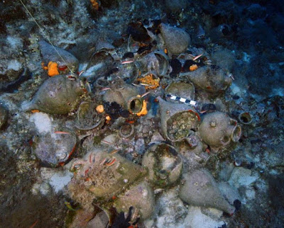 More on 22 shipwrecks located near Greek island
